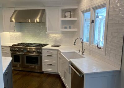 Kitchen Construction Project in Somers, CT